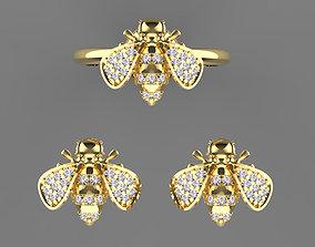 3D print model earrirgs earrings