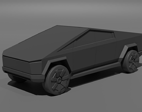 3D printable model Tesla CyberTruck