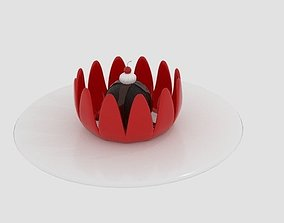 Cream Desert Chocolate 3D model