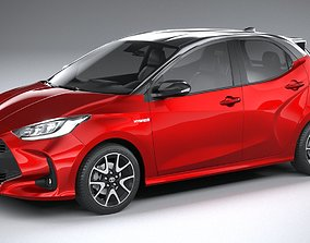 3D model Toyota Yaris 2020