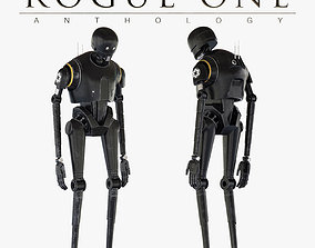 3D K-2SO Star Wars Droid