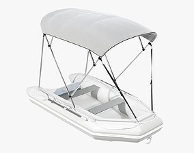 3D Boat inflatable 03 sunshade