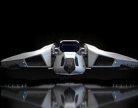 spaceship small 3D