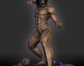 3D print model Eren - Attack Titan - Shingeki no