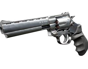 3D asset Magnum 357 Revolver - EAA Windicator 6 inch