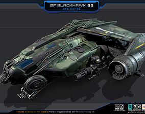SF - Blackhawk B3 3D asset