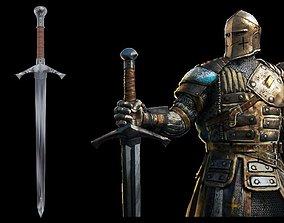 3D print model For honor warden sword