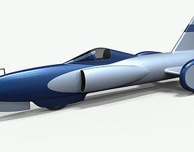 Spirit of America jet car 1964 3D model