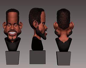 3D caricatura de will smith
