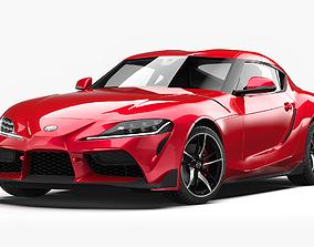 3D Toyota Supra 2020