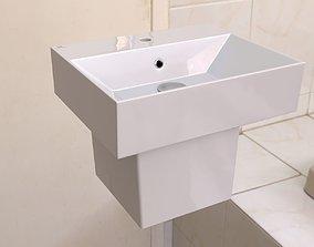 3D model Washbasin detailed