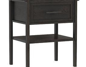 3D model Dantone Home Contempo nightstand