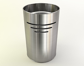 Bin in fancy metals and colors 3D
