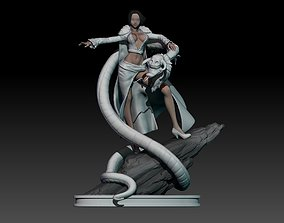 boa hancock - one piece - 3d print statue small