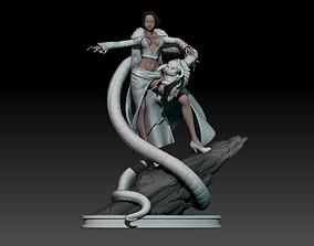 boa hancock - one piece - 3d print statue small version
