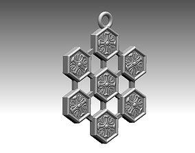 Pendant amulet 3D model