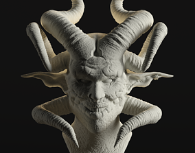 monster 3D printable model Devil
