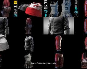 Dress Collection 3D model