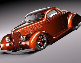 3D Custom StreetRod HotRod 1936