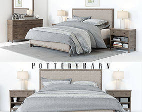 3D Pottery Barn Toulouse Bedroom set