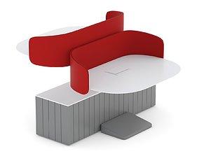 3D model Herman Miller Locale Desk 1