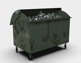 3D asset Waste container