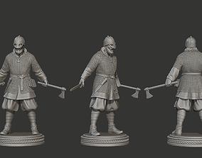 Viking 3D printable model warrior