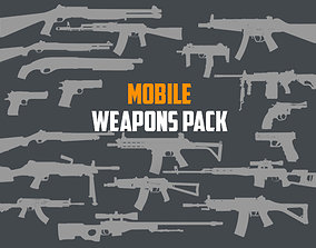 Mobile Weapon Pack 3D asset