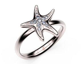Ring StarFish 3D printable model