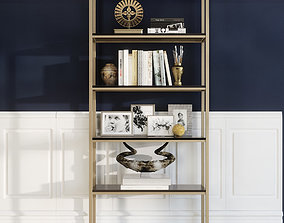 Shelf decor photo 3D
