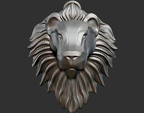 savage Lion Head 3 3D printable model