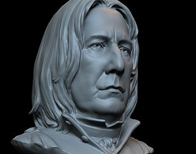 Professor Severus Snape - Alan 3D printable model 4