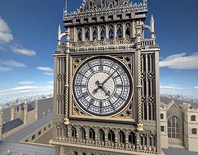 Big Ben London 3D model