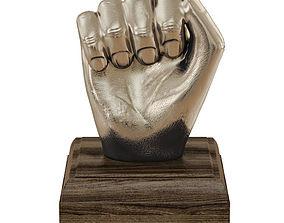 Kingston Hand Fist Decor Sculpture 3D