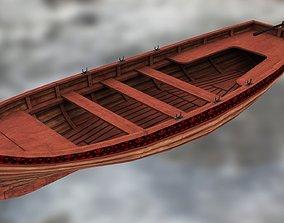 3D model Boat Yawl 6 oars