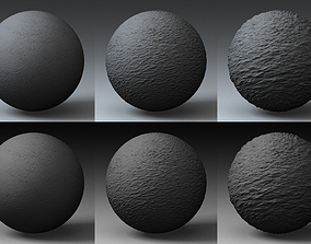 Displacement Landscape Shader 025 3D model