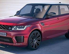 3D Range Rover Sport 2018