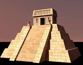 3D model realtime Aztec Pyramid small