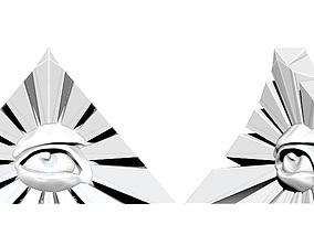 Radiant delta detailed printable