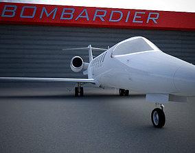 Learjet 45 3D model