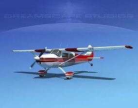 Cessna 170 V04 3D model