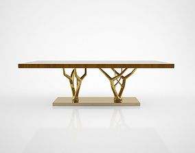 Ginger and Jagger Primitive dining table 3D