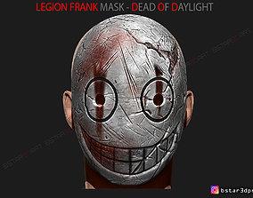 3D print model The Legion Frank Mask - Dead by Daylight 3