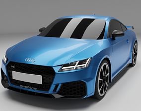 luxury Audi RS TT 2019 3D