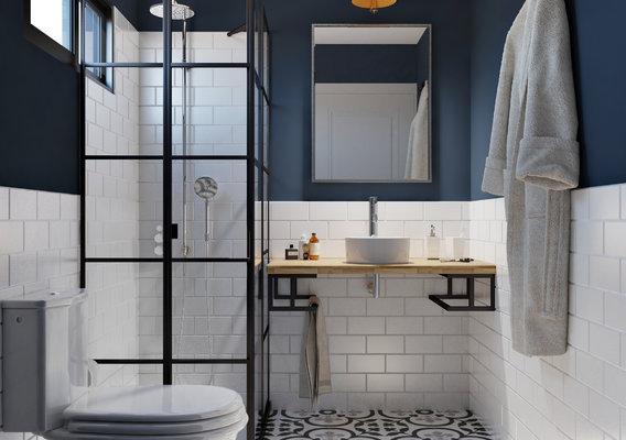 Bath interior - Residential visualization