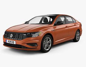 Volkswagen Jetta R-Line US-spec 2018 3D