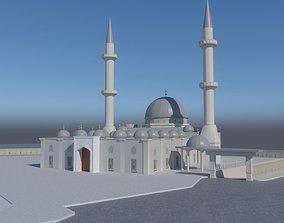 The mosque 3D asset