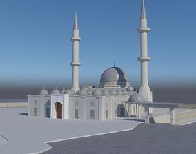 The mosque 3D asset
