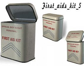 3D asset First aids kit 5