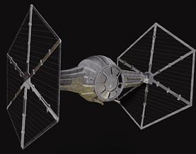 Star Wars Tie Fighter sf 3D model